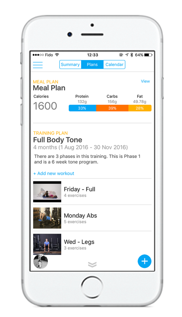 Mobile app for fitness, fitness app, wight loss